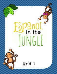 Español in the Jungle Unit 1