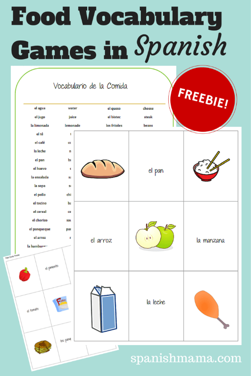 Food Vocabulary Games