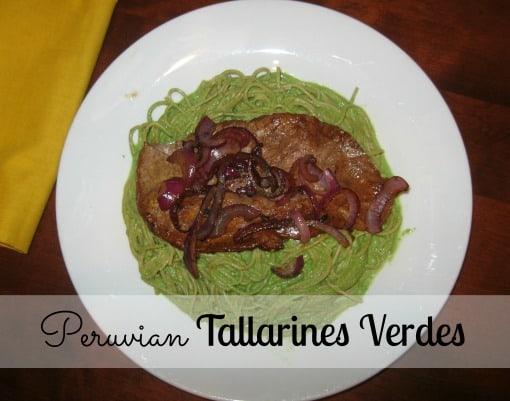 Peruvian Tallarines Verdes
