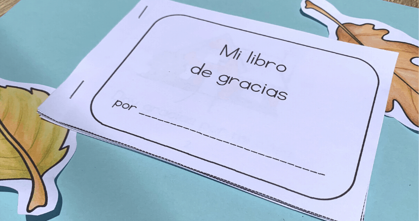 Thanksgiving book in Spanish