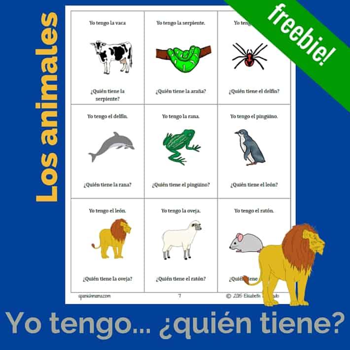 Spanish Animal Names