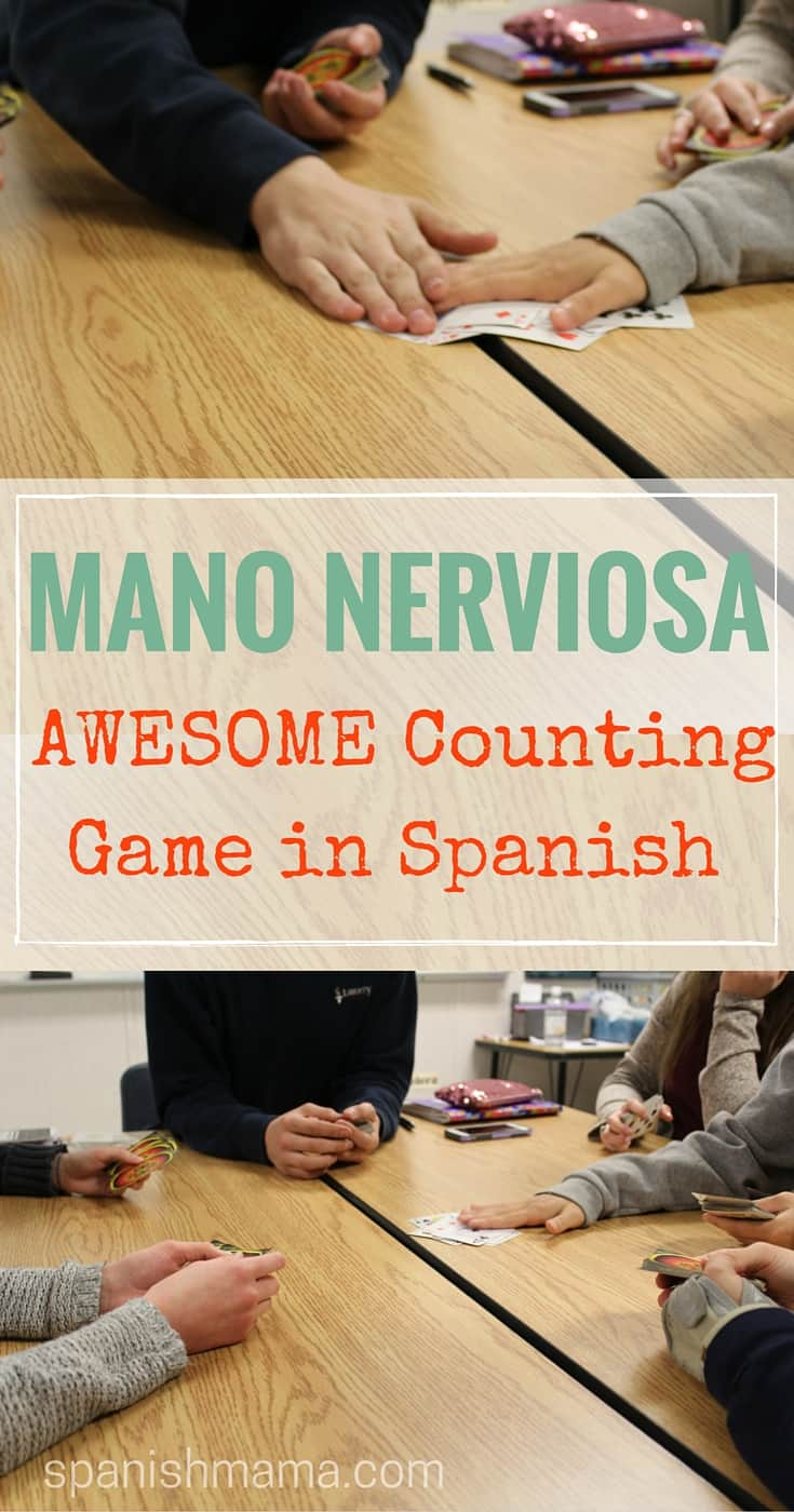 Learn the numbers in Spanish with Mano Nerviosa