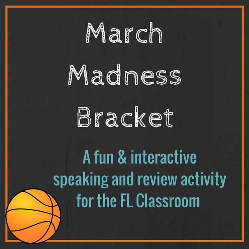 March Madness Bracket Activity