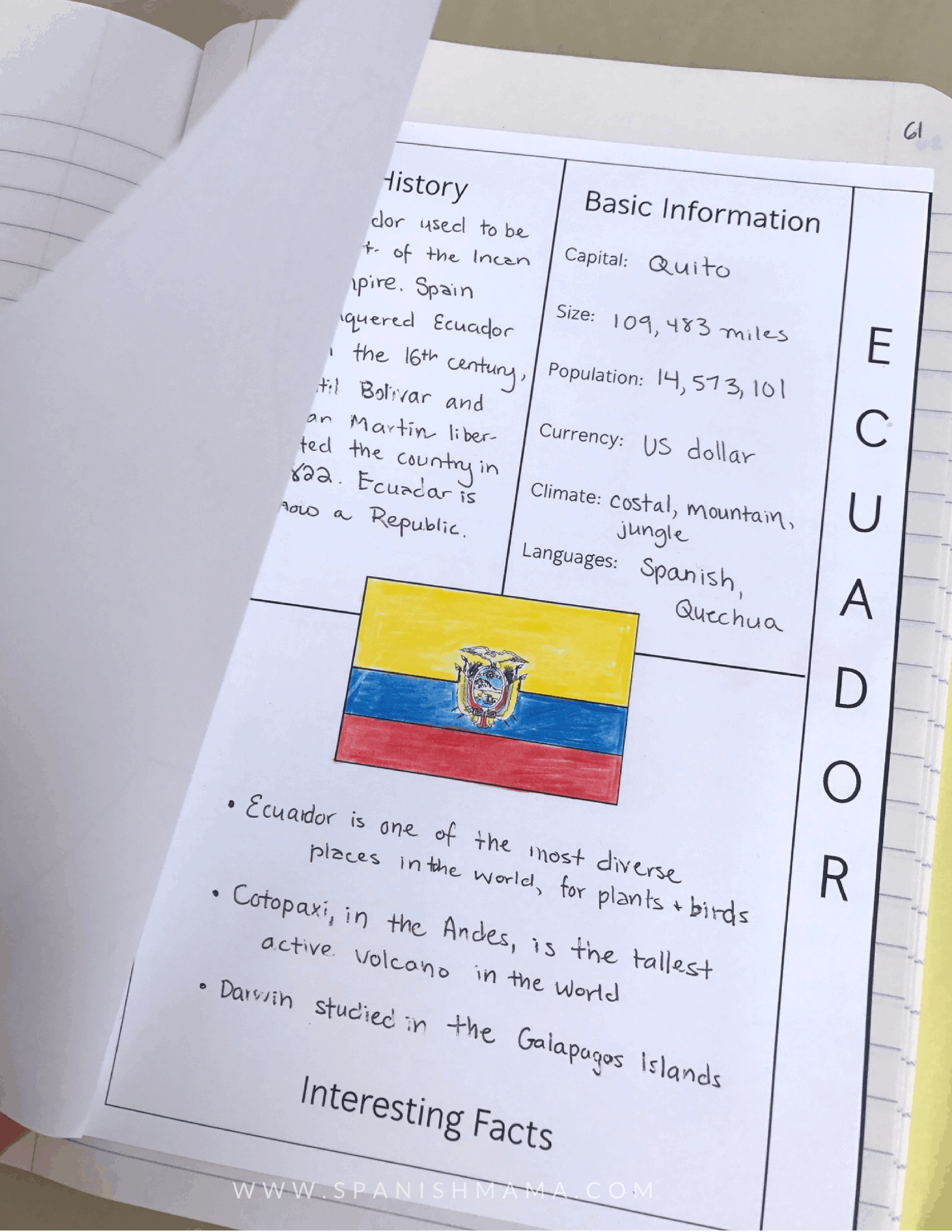 Spanish Interactive Notebooks: What, Why, and How to Use Them