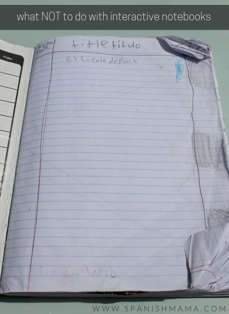 what NOT to do with interactive notebooks (2)