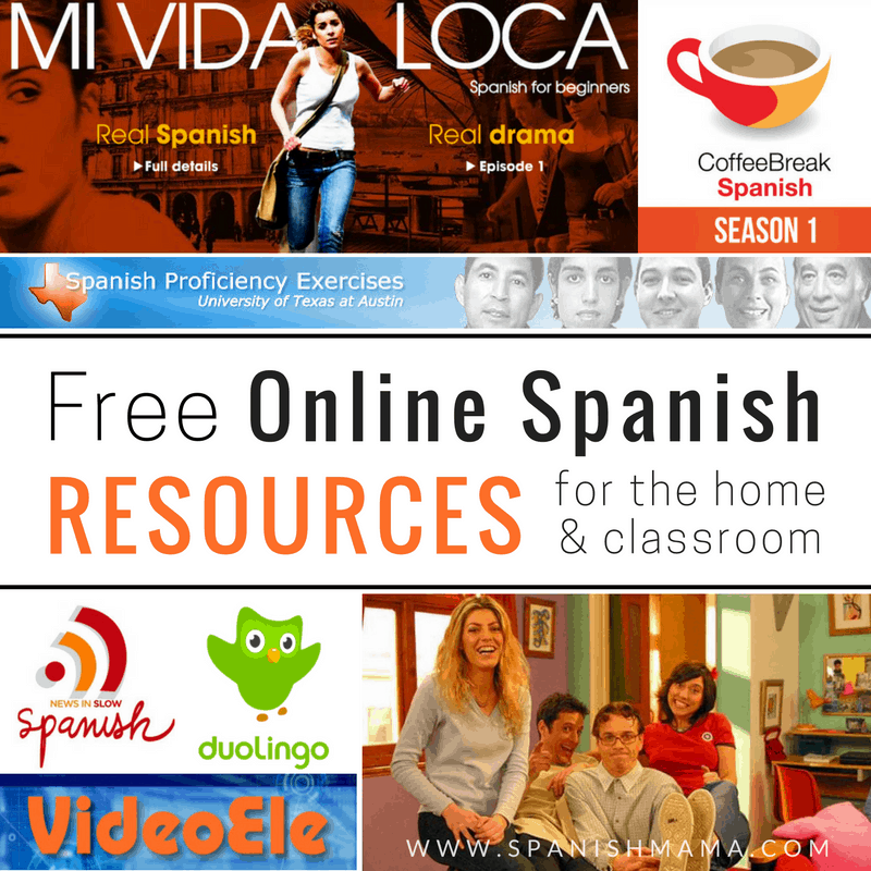 Free Online Spanish Resources for the Home and Classroom