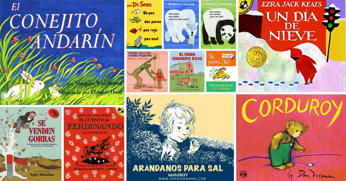 Picture Books for Kids in Spanish and English