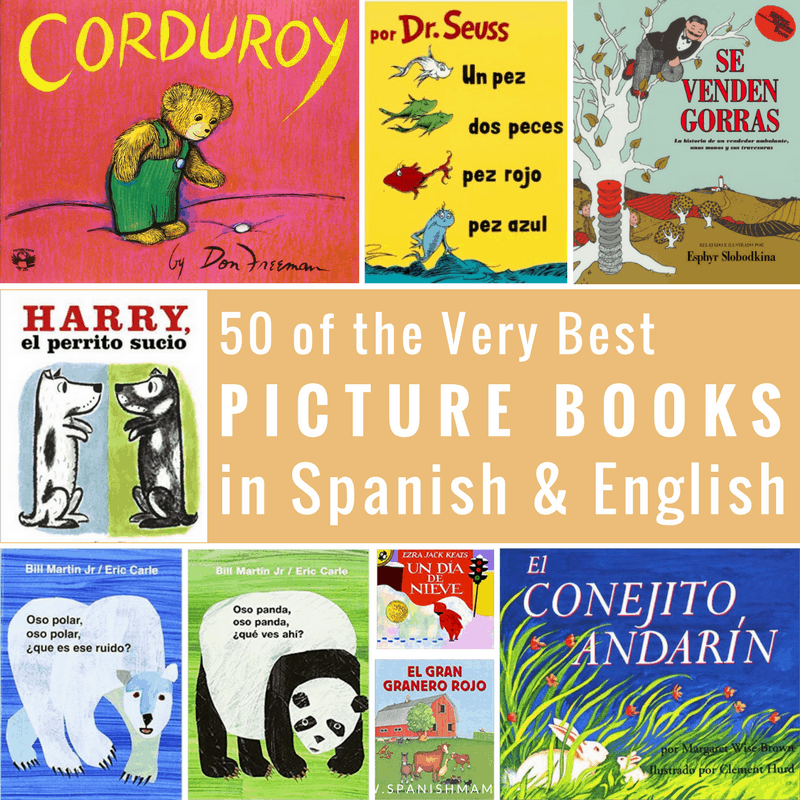 bilingual books in spanish and english