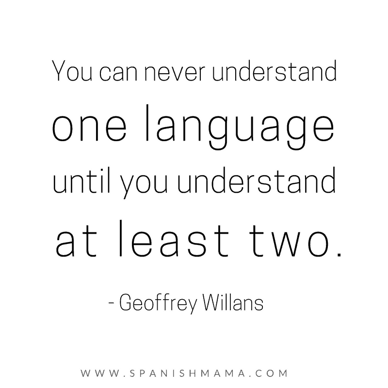 You-can-never understand one language geoffrey willans