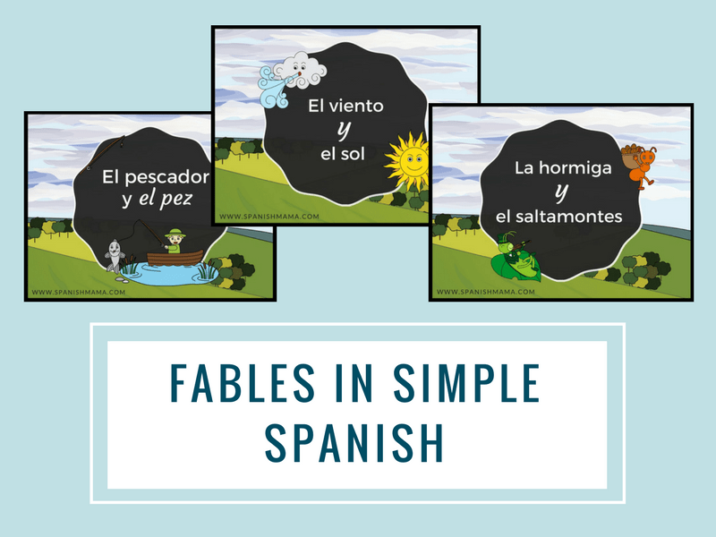 fables in spanish