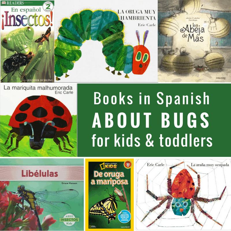 spanish bug books