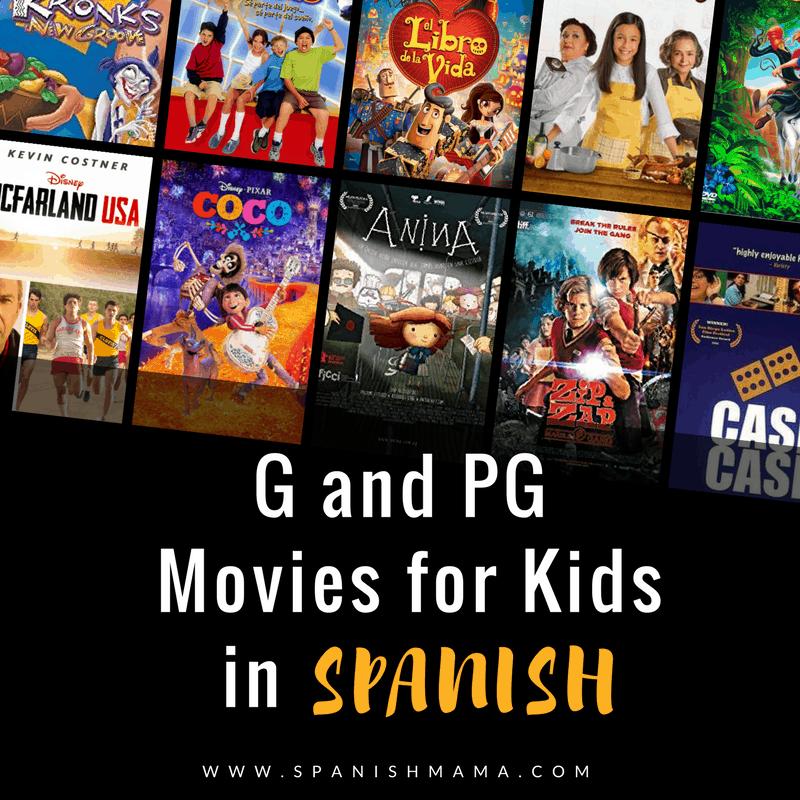 Spanish movies for kids