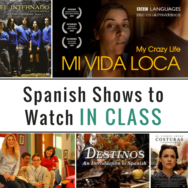 Shows for Spanish class