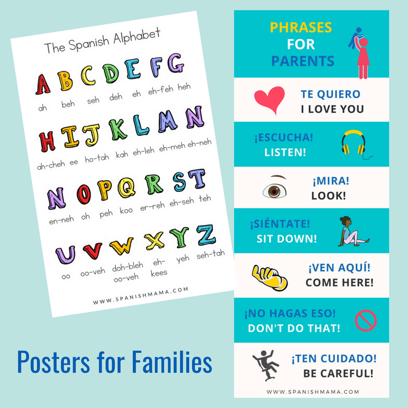 Spanish Posters for Families