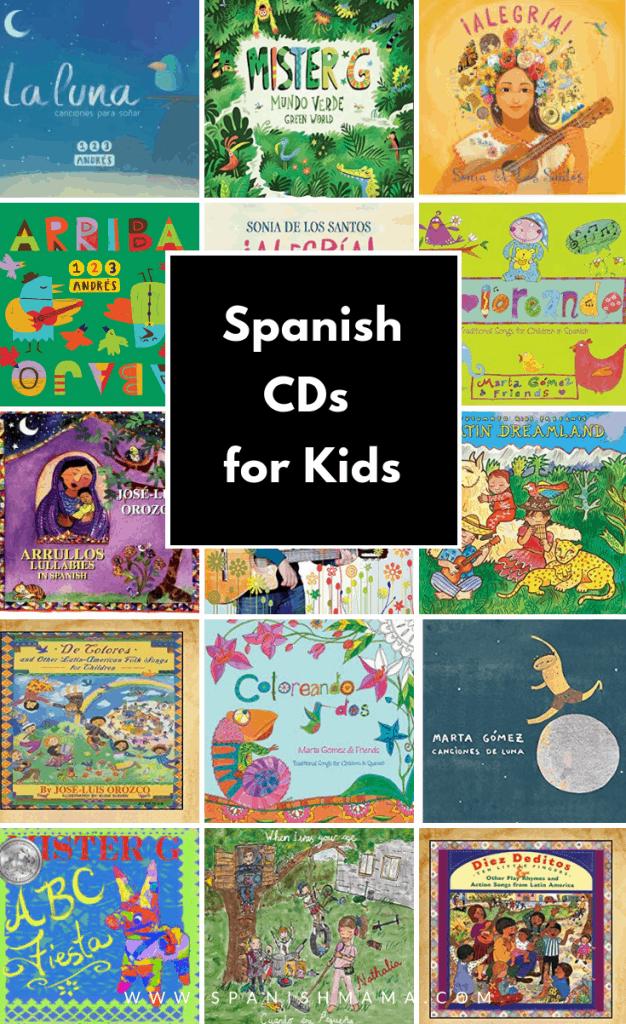 Spanish children's CDs