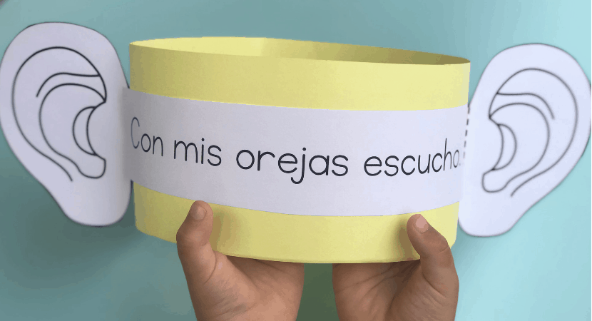 5 Sentidos Activities for Kids Learning Spanish