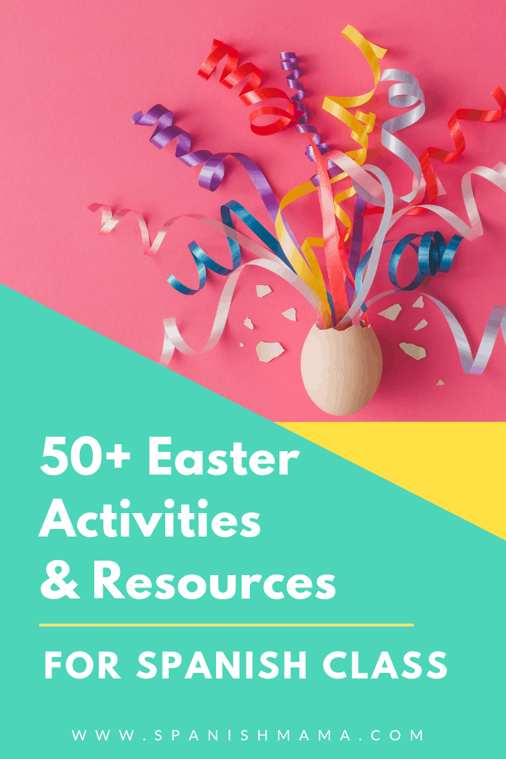 Spanish Easter Activities