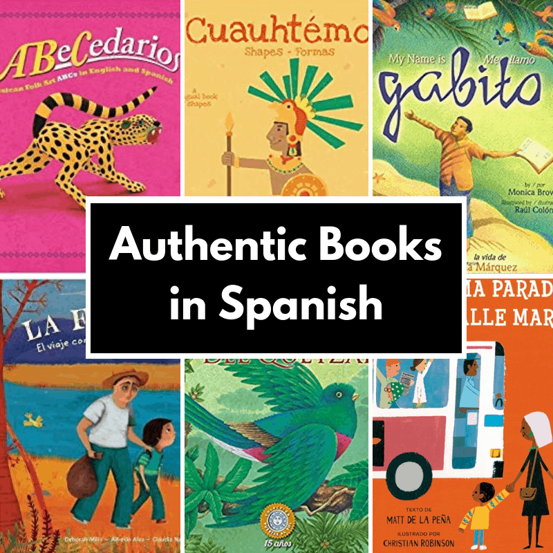 authentic picture books in Spanish