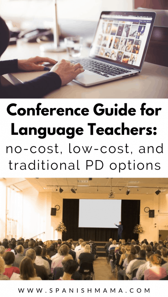 conferences for Spanish teachers