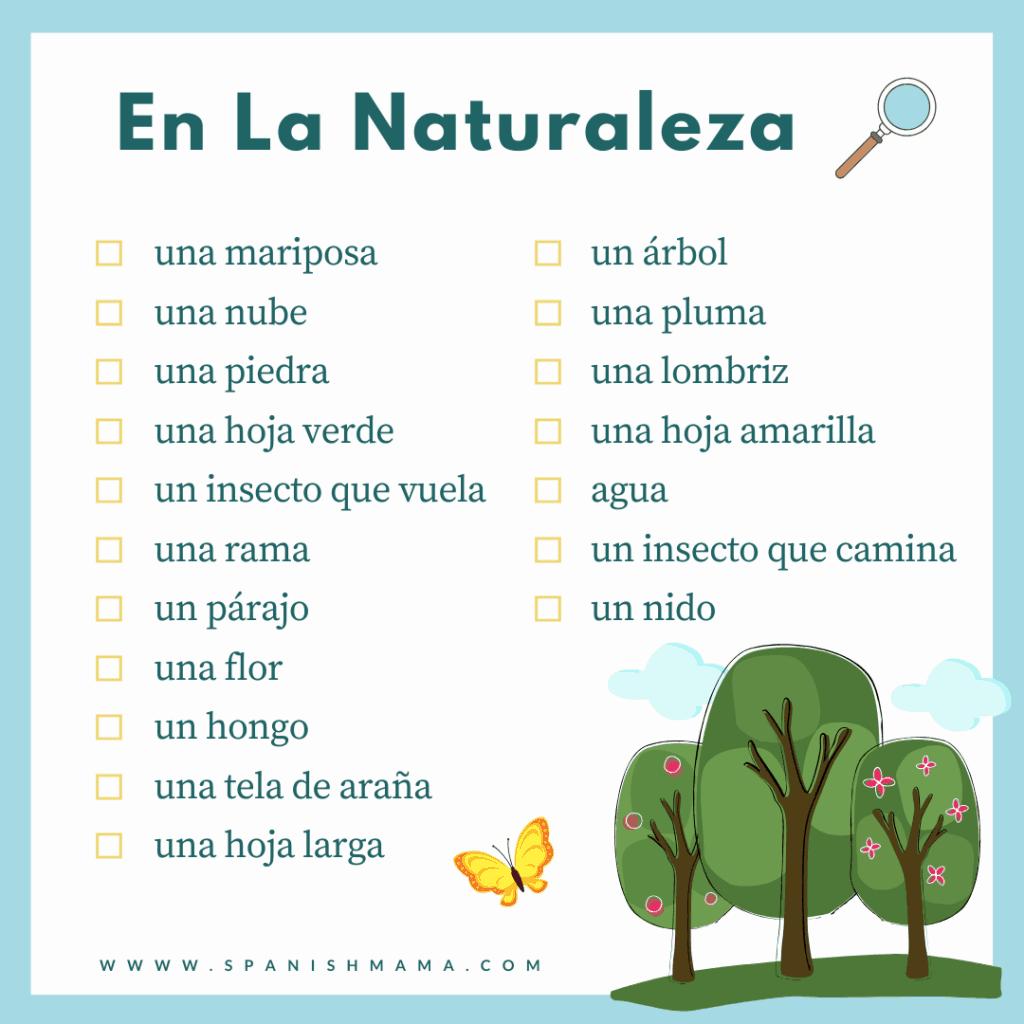 spanish nature hunt