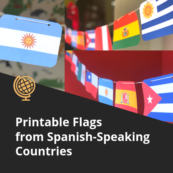Flags from Spanish-Speaking Countries (2)