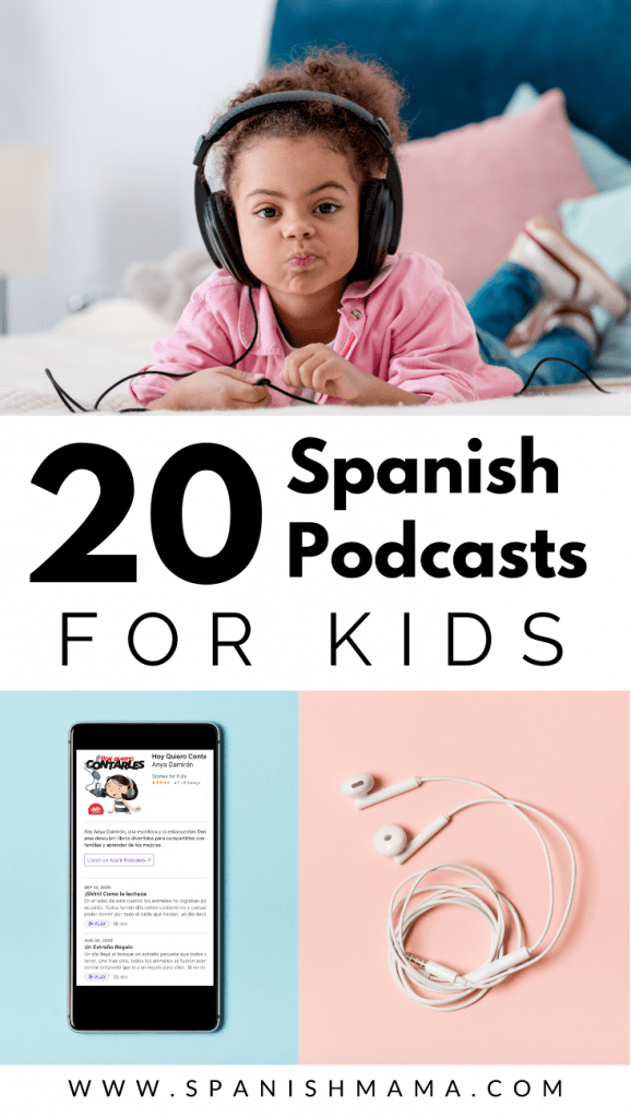 Spanish podcasts for kids