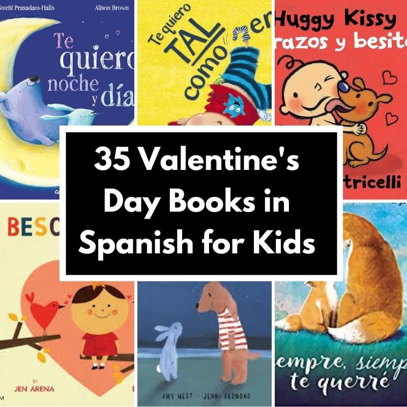 valentine's books in spanish