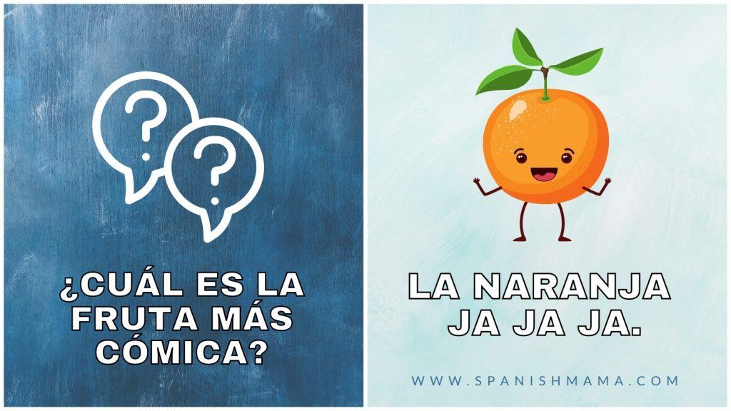 spanish jokes for kids