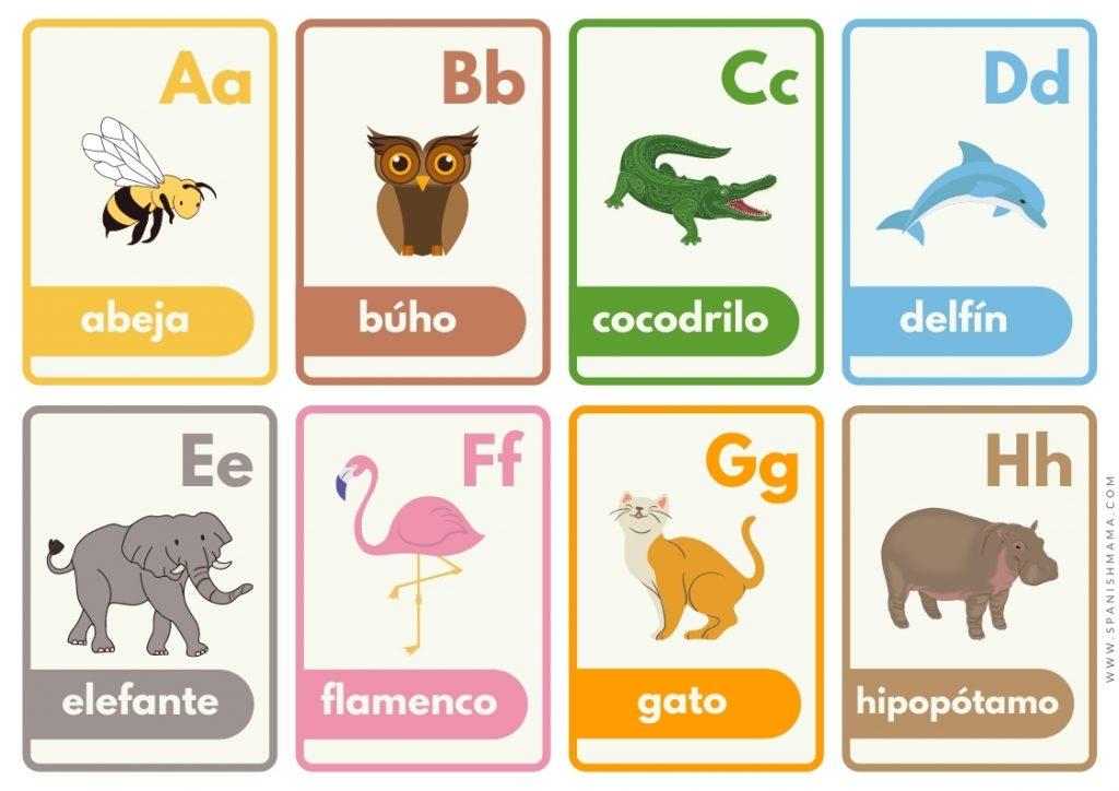 Spanish ABC Flashcards (1)