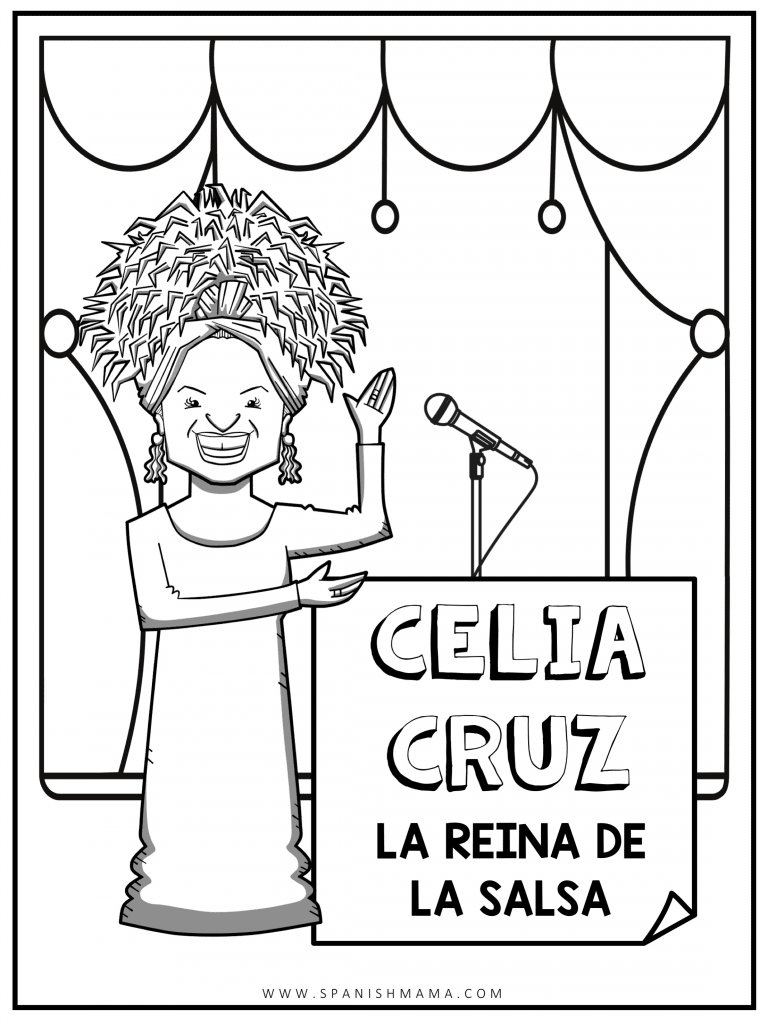 Celiz Cruz kids coloring pagepage